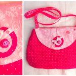 Des cadeaux fait maison #2 : un petit sac de fille