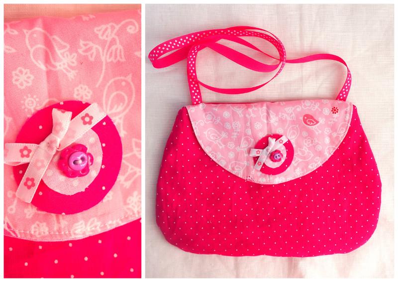 des cadeaux fait maison 2 un petit sac de fille couture pour enfant tutos diy isastuce. Black Bedroom Furniture Sets. Home Design Ideas