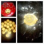 Bredele et smiley au chocolat