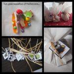 DIY d'Halloween : préparer des petits pochons pour les bonbons