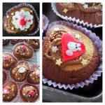 Anniversaire de P'tite Poulette : cup cake Peppa Pig sans lactose