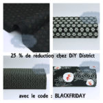 25 % de réduction chez DiY District pour le black friday !