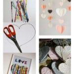 Les jolies idées des autres : La saint Valentin et des petits coeurs
