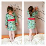 Collection P'tite Poulette : une robe Princess Castle et des pandas