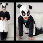 Collection P'tit Poulet : un déguisement de panda