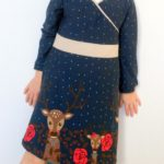 Collection P'tite Poulette : une robe « Princess castle » du Ottobre 4/2013