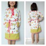 Collection P'tite Poulette : une robe «Mini prints» Ottobre 4/2013