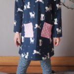 Collection P'tite Poulette : un ensemble robe et legging Ottobre