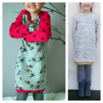 Collection P'tite Poulette : une robe Falling leaves