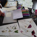 Une idée pour occuper les enfants #1 : les fleurs séchées