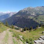 la montagne autour de  Bourg saint Maurice